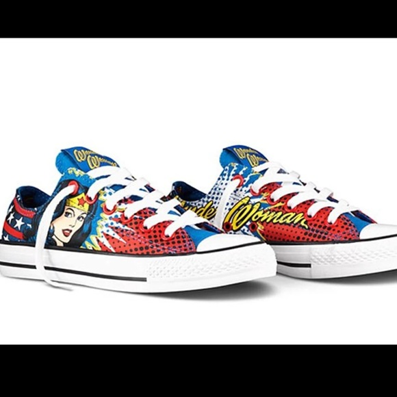 767cfe5f1df072 Converse Other - Dc Comics X Chuck Taylor Wonder Woman Sneakers